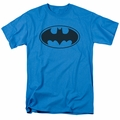 Batman t-shirt Black Bat mens turquoise