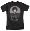 The Joker t-shirt Busted! mens black