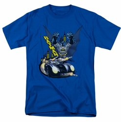 Batman t-shirt By Air & By Land mens royal