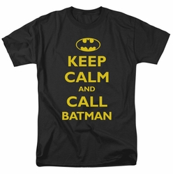 Batman t-shirt Call Batman mens black
