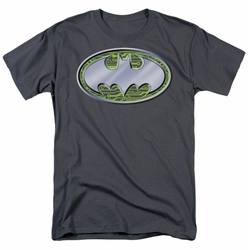Batman t-shirt Circuits Logo mens charcoal