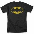 Batman t-shirt Classic Logo Distressed mens black