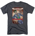 The Joker t-shirt Clown Prince mens charcoal