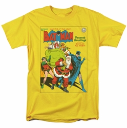 Batman t-shirt Cover No. 27 mens yellow