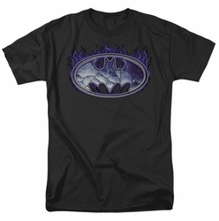 Batman t-shirt Cracked Shield mens black