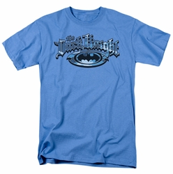 Batman t-shirt Dark Knight Blue Camo mens carolina blue