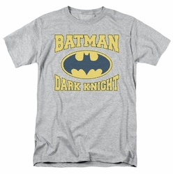 Batman t-shirt Dark Knight Jersey mens heather