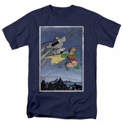 Batman t-shirt Dkr Duo mens navy