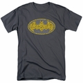 Batman t-shirt Elephant Rose Signal mens charcoal