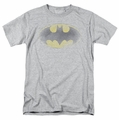 Batman t-shirt Faded Logo mens heather