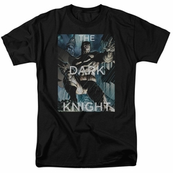 Batman t-shirt Fighting The Storm mens black