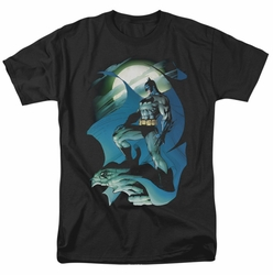 Batman t-shirt Glow Of The Moon mens black