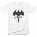 Batman t-shirt Gothic Gotham mens white