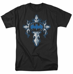 Batman t-shirt Gothic Steel Logo mens black