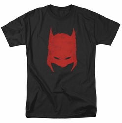 Batman t-shirt Hacked and Scratched mens black