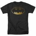 Batman t-shirt Halftone Bat mens black