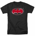 Batman t-shirt Hardcore Noir Bat Logo mens black