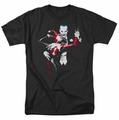 Harley Quinn & Joker t-shirt mens black