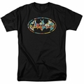 Batman t-shirt Hawaiian Bat mens black