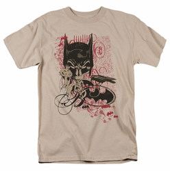 Batman t-shirt Heroic To The Bone mens sand