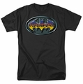 Batman t-shirt Hot Rod Shield mens black