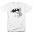 Batman t-shirt I Am Vengeance mens white