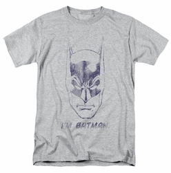 Batman t-shirt I'M Batman mens heather