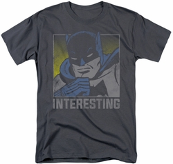 Batman t-shirt Interesting mens charcoal
