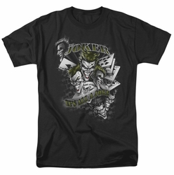 Joker t-shirt Its All A Joke mens black