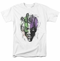 The Joker t-shirt Airbrush mens white