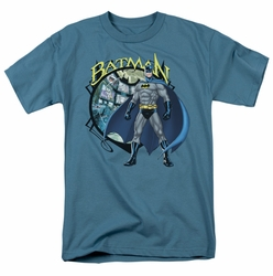 Batman t-shirt Joker Case Files mens slate