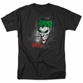 The Joker t-shirt Joker Sprays The City mens black