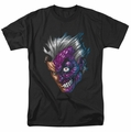 Two-Face t-shirt Just Face mens black