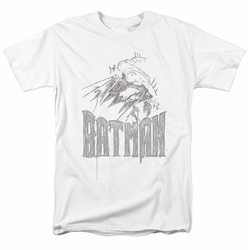Batman t-shirt Knight Sketch mens white