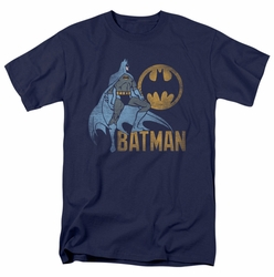 Batman t-shirt Knight Watch mens navy