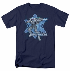 Mr Freeze t-shirt Mr Freeze mens navy