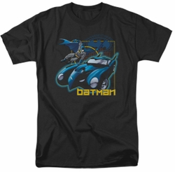 Batman t-shirt Nice Wheels mens black