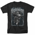 Nightwing t-shirt Biker mens black