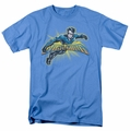 Nightwing t-shirt Burst mens carolina blue