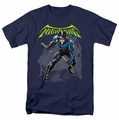 Batman t-shirt Nightwing mens navy