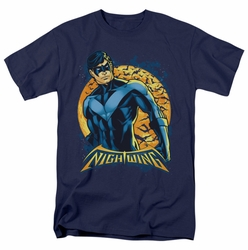 Nightwing t-shirt Moon mens navy