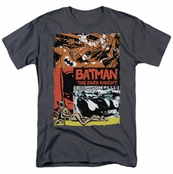 Batman t-shirt Old Movie Poster mens charcoal