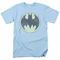 Batman t-shirt Old Time Logo mens light blue