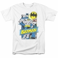 Batman t-shirt Out Of The Pages mens white