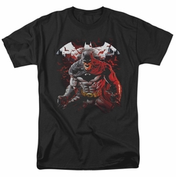 Batman t-shirt Raging Bat mens black
