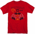 Batman t-shirt Ready For Action mens red