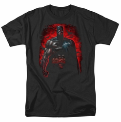 Batman t-shirt Red Knight mens black