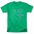 The Riddler t-shirt Repeat mens kelly green