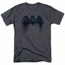 Batman t-shirt Run Away mens charcoal