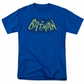 Batman t-shirt Show Bat Logo mens royal